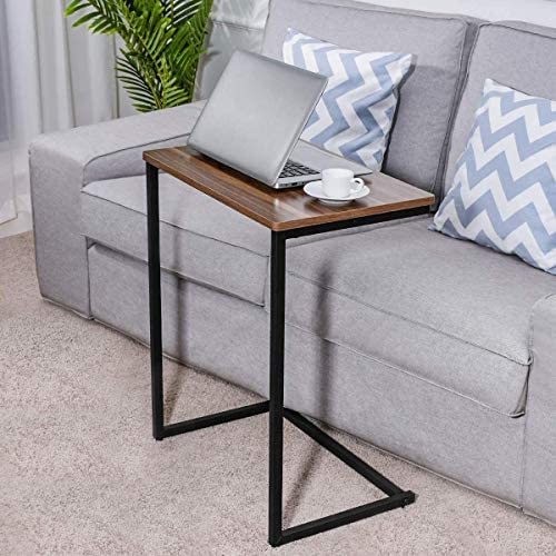 51WJqvTIVdL. AC  - Homemaxs Sofa Side End Table C Table Multiple Stand 26-Inch for Small Space