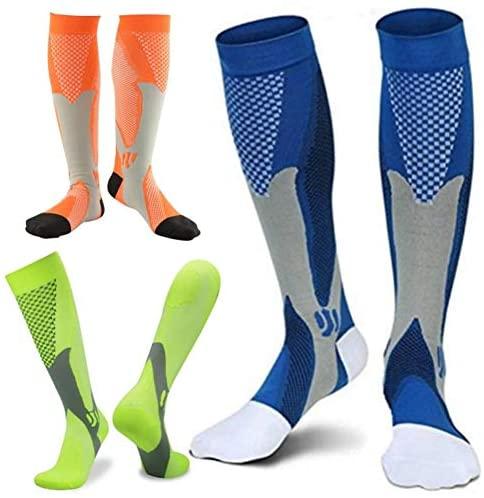 51aDKWzw4qL. AC  - ZFiSt 3Pair Medical Sport Compression Socks Men,20-30mmhg Run Nurse Socks for Edema Diabetic Varicose Veins