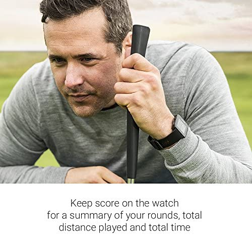 51jJenCWYLL. AC  - Garmin 010-02028-00 Approach S10, Lightweight GPS Golf Watch, Black