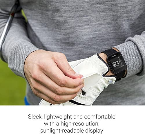 51sYq2nRFXL. AC  - Garmin 010-02028-00 Approach S10, Lightweight GPS Golf Watch, Black