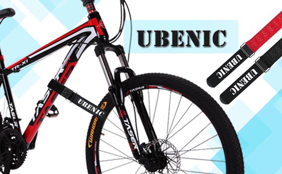 "59904591 bd8f 4cb1 a374 64a27c7f733d.  CR0,0,970,600 PT0 SX970 V1    - Ubenic 4 Pcs Adjustable Bike Rack Strap 29.5"" Bike Wheel Strap with Buckle Gel, Bike Storage Strap for Bicycle Wheel, Bike Wheel Stabilizer Replacement, Bicycle Straps for Rack"