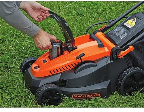 61F4Eh5UG6L. AC  - BLACK+DECKER 40V MAX Cordless Lawn Mower, 16-Inch (CM1640)