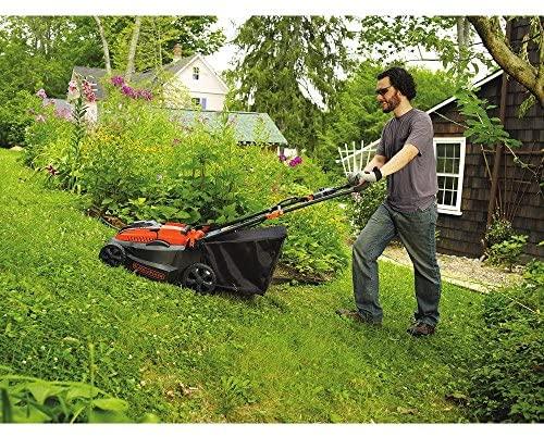 61jhuXL66uL. AC  - BLACK+DECKER 40V MAX Cordless Lawn Mower, 16-Inch (CM1640)