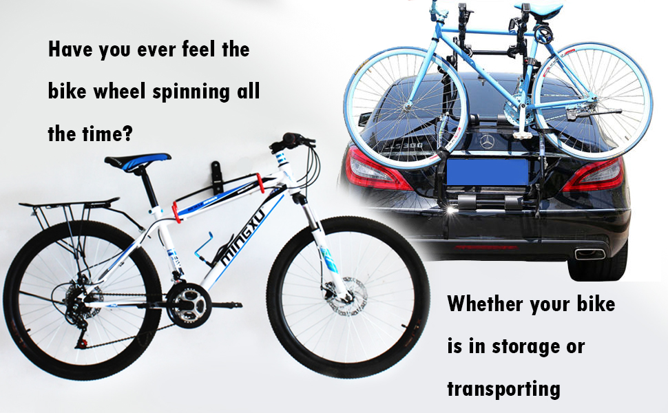 "766a6b04 d58e 4d1a a007 a934dabd0d5c.  CR0,0,970,600 PT0 SX970 V1    - Ubenic 4 Pcs Adjustable Bike Rack Strap 29.5"" Bike Wheel Strap with Buckle Gel, Bike Storage Strap for Bicycle Wheel, Bike Wheel Stabilizer Replacement, Bicycle Straps for Rack"