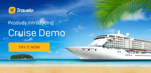 Cruise - Travelo - Travel/Tour Booking Responsive WordPress Theme