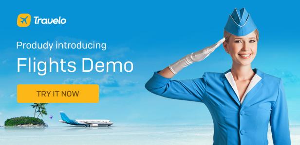 Flights - Travelo - Travel/Tour Booking Responsive WordPress Theme