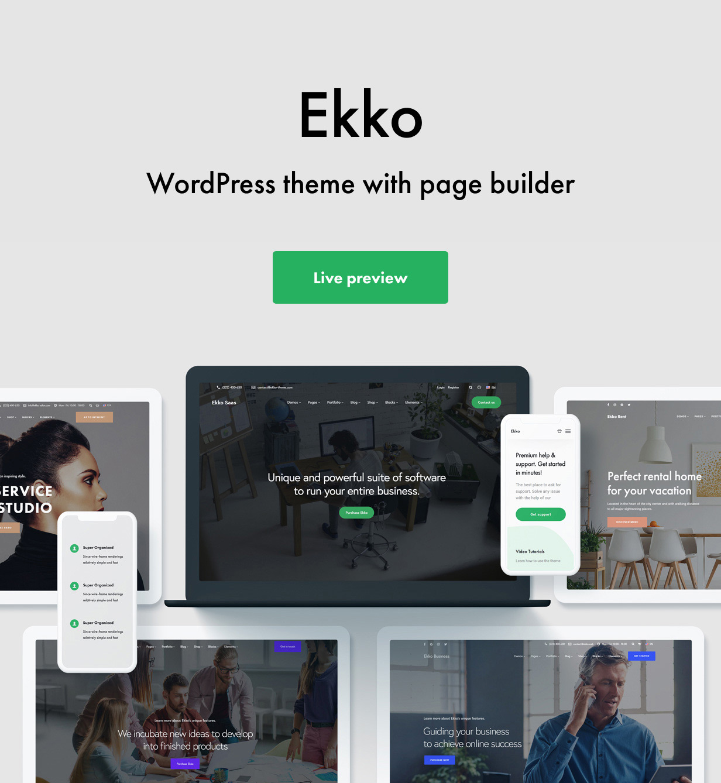 Intro - Ekko - Multi-Purpose WordPress Theme with Page Builder