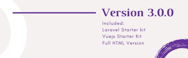 Laravel Starter - Gull -  HTML & Vuejs Admin Dashboard Template