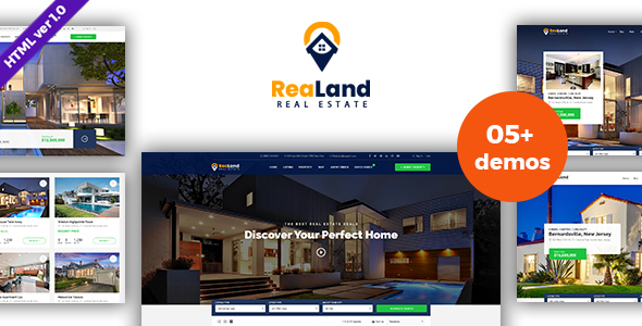 Preview (1).  large preview - ReaLand - Real Estate HTML Template