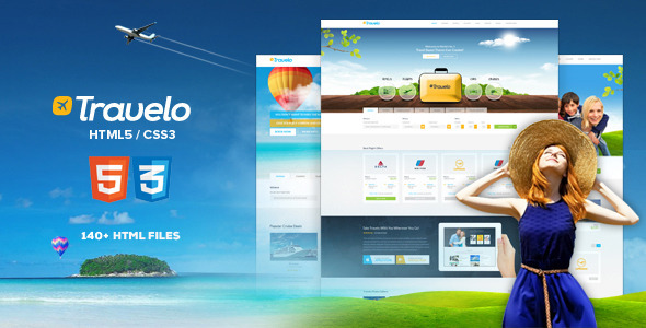 Preview.  large preview - Travelo - Travel, Tour Booking HTML5 Template