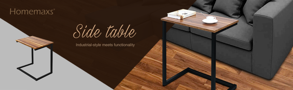 QGRQL6CmTiOW. UX970 TTW   - Homemaxs Sofa Side End Table C Table Multiple Stand 26-Inch for Small Space