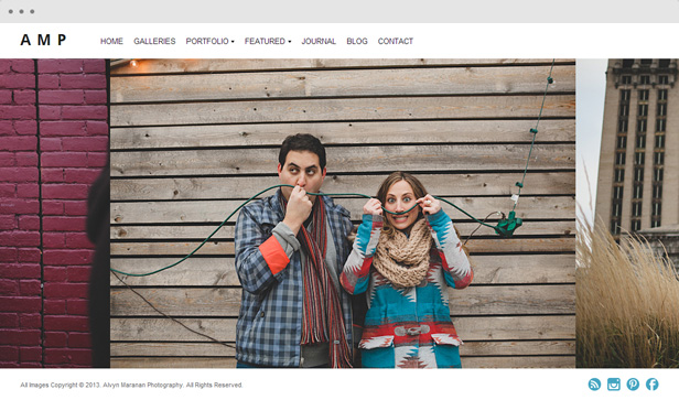 alvynmaranan - Heat - Responsive Photography WordPress Theme