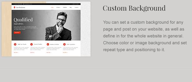 attorney theme background - LawBusiness - Attorney & Lawyer WordPress Theme
