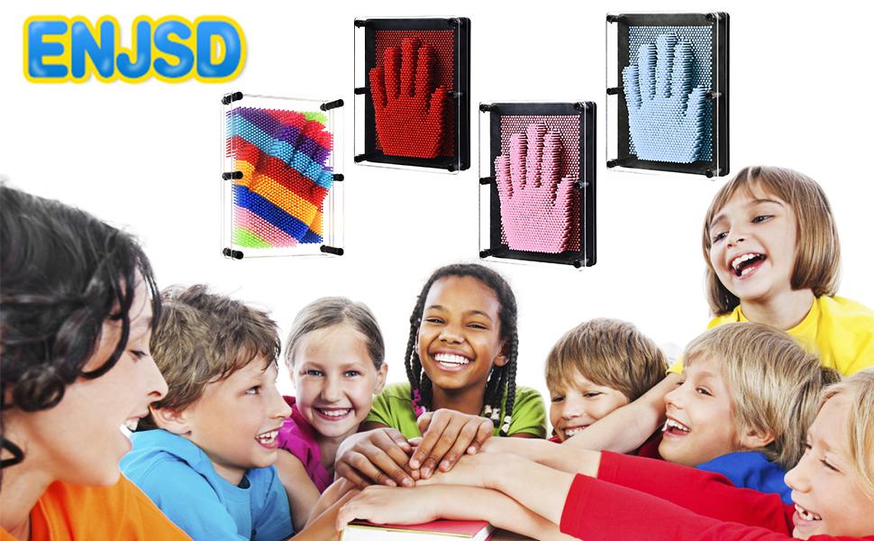 cca9e5c8 ab26 4456 850a 3e6be8ac149f.  CR0,0,970,600 PT0 SX970 V1    - ENJSD 3D Pin Art Toy, Unique Plastic Pin Art Board for Kids,Inspire Imagination & Challenge Sense, Innovative Boundless Creativity for Children (Multicolor)