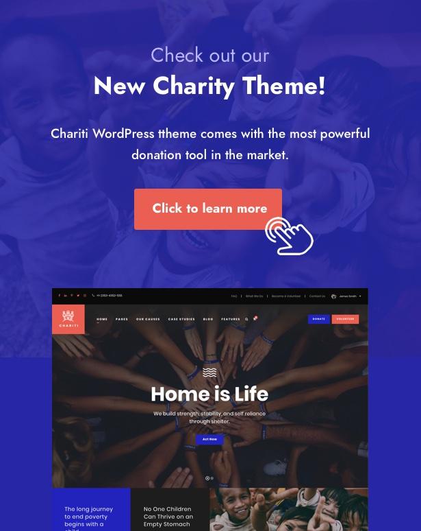 chariti charityhub - Charity Hub - Nonprofit / Fundraising WordPress