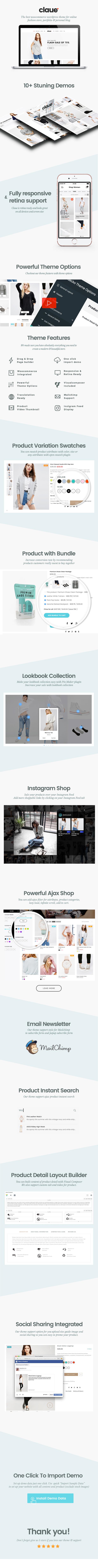 description image1 - Claue - Clean, Minimal Elementor WooCommerce Theme