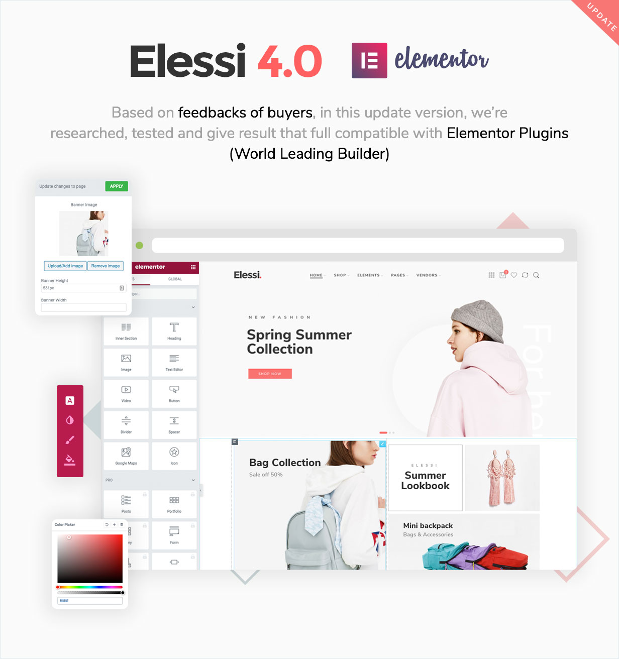 elessi version4.0 - Elessi - WooCommerce AJAX WordPress Theme - RTL support