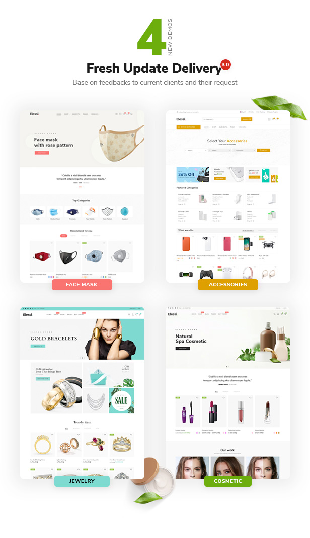 elessi newhome3 - Elessi - WooCommerce AJAX WordPress Theme - RTL support