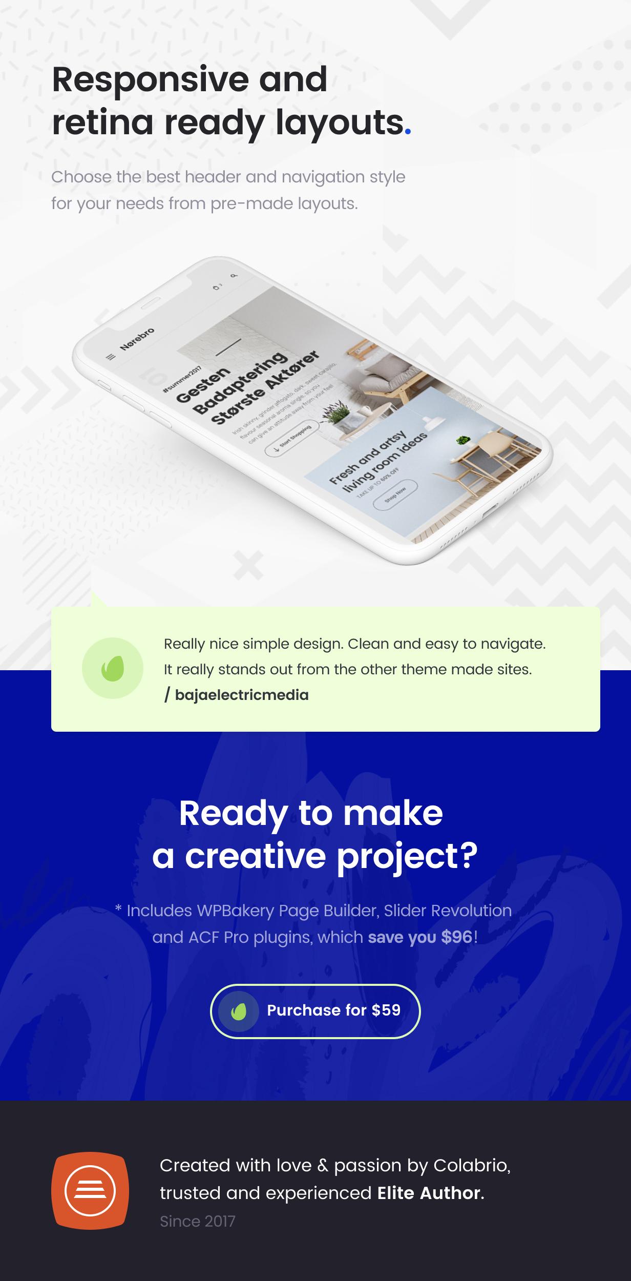 envato promo  616px 10 - Norebro - Creative Portfolio Theme for Multipurpose Usage