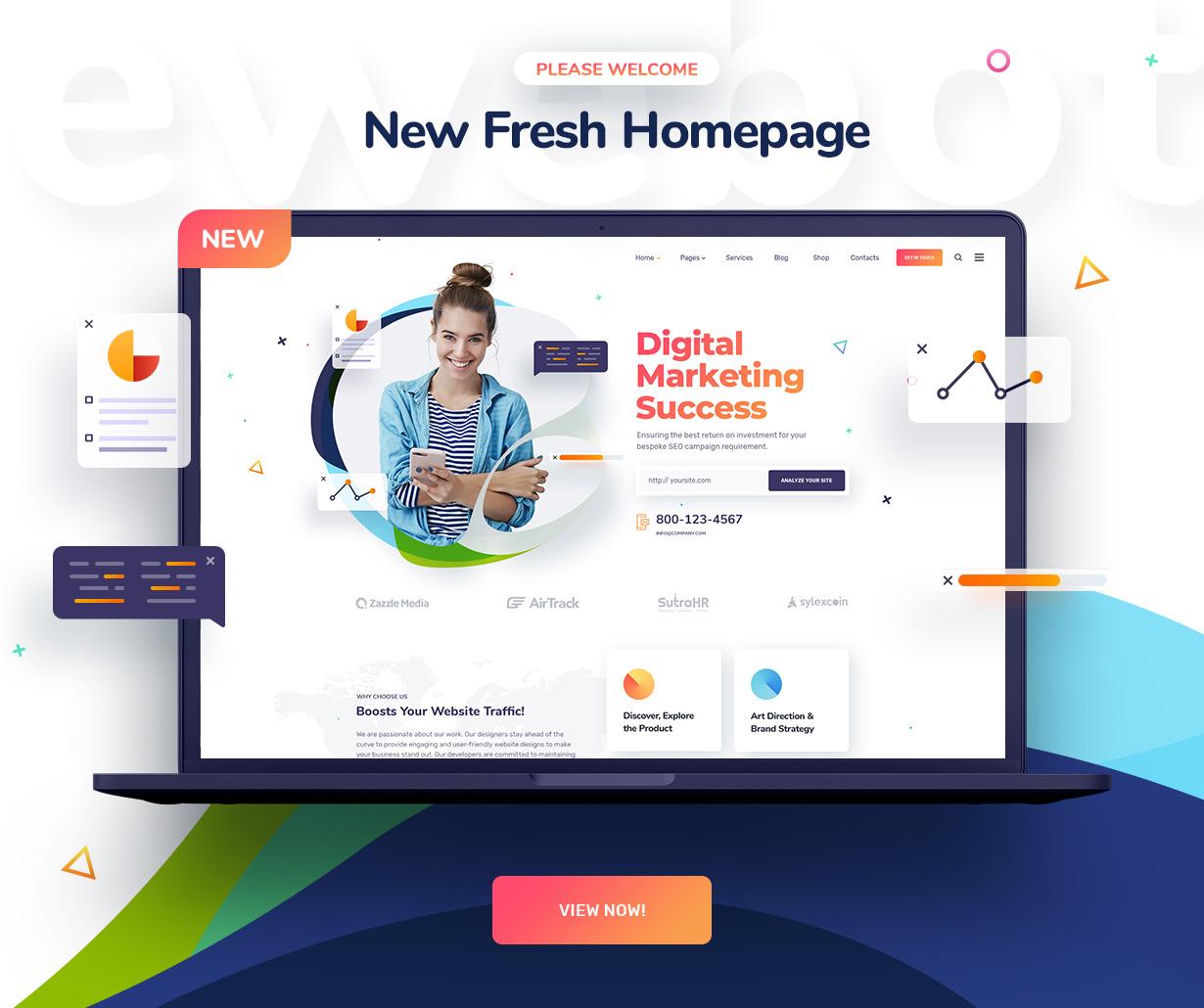 ewebot homepage10 - Ewebot - SEO Marketing & Digital Agency