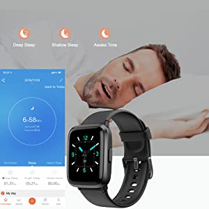 f922cce7 c4e0 4e67 ae8b 4efaf564ae45.  CR0,0,1000,1000 PT0 SX300 V1    - YAMAY Smart Watch, Watches for Men Women Fitness Tracker Blood Pressure Monitor Blood Oxygen Meter Heart Rate Monitor IP68 Waterproof, Smartwatch Compatible with iPhone Samsung Android Phones (Black)