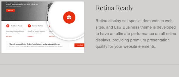 lawyer theme retina - LawBusiness - Attorney & Lawyer WordPress Theme