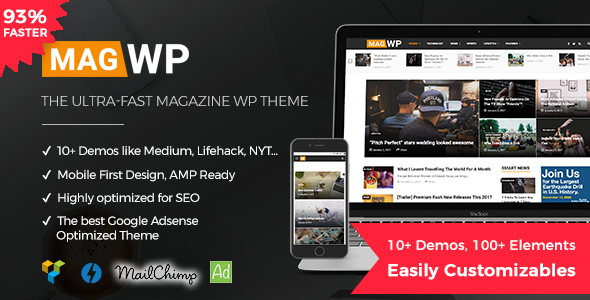 mag.  large preview - Course & LMS WordPress Theme | CBKit