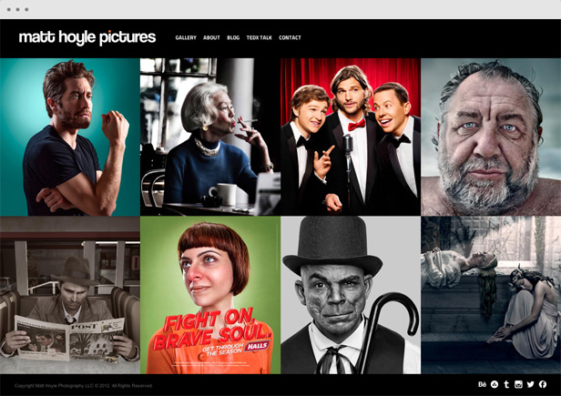 matthoyle - Heat - Responsive Photography WordPress Theme