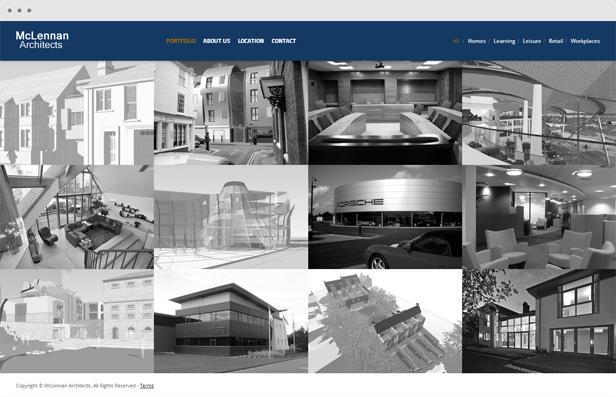 mclennanarchitects - Heat - Responsive Photography WordPress Theme