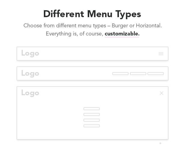 menu - Adios - Portfolio Elementor WordPress Theme