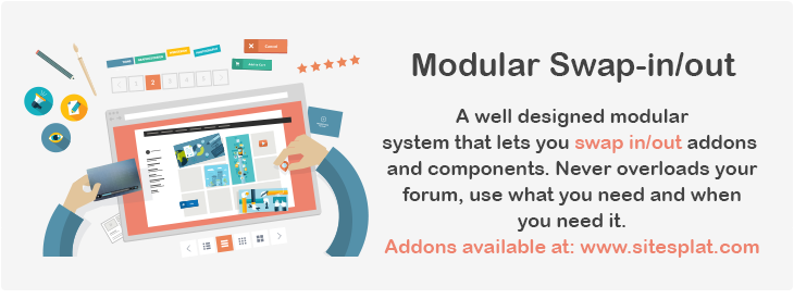 modular - FLATBOOTS | High-Performance and Modern Theme For phpBB