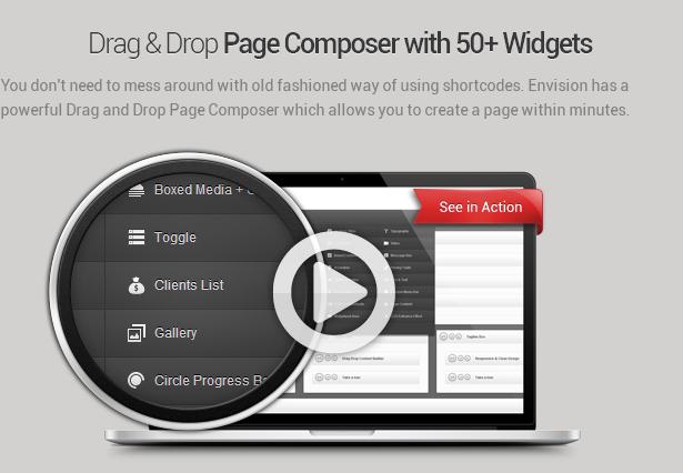 page composer - Envision - Responsive Retina Multi-Purpose Theme