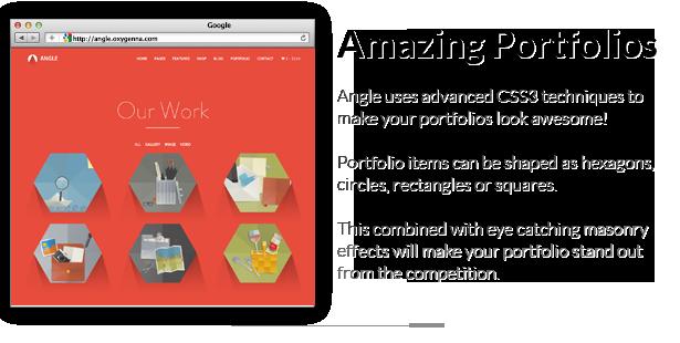 portfolios - Angle Flat Responsive Bootstrap MultiPurpose Theme
