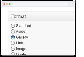 post formats - Heat - Responsive Photography WordPress Theme