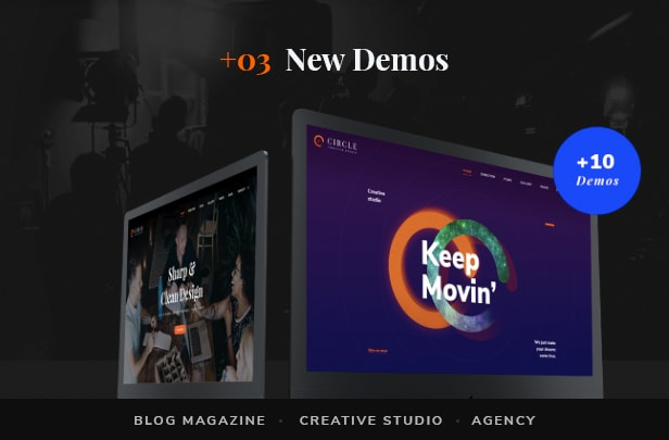preview circle 00 - Circle - Filmmakers & Movie Studios WordPress theme