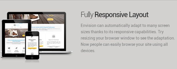 responsive layout - Envision - Responsive Retina Multi-Purpose Theme