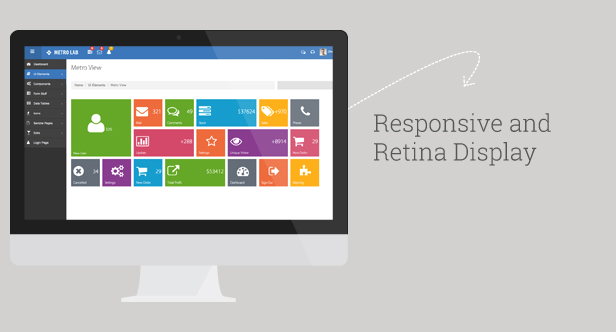 responsive amp retina by vectorlab1 d6hwp56 - Metro Lab - Responsive Dashboard Template