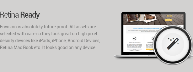 retina ready - Envision - Responsive Retina Multi-Purpose Theme
