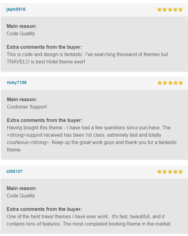 reviews 3 - Travelo - Travel/Tour Booking Responsive WordPress Theme