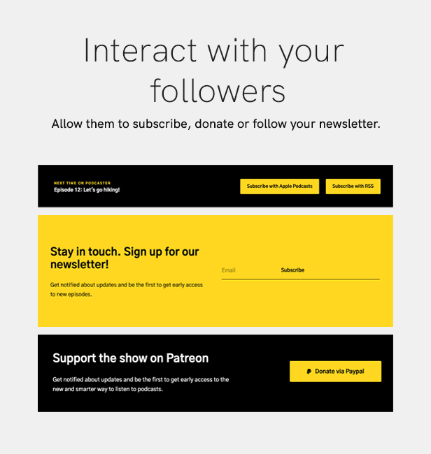 sales page 15 interact 2 - Podcaster - Multimedia WordPress Theme