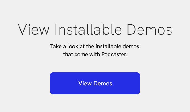 sales page 17 demo link 2 - Podcaster - Multimedia WordPress Theme