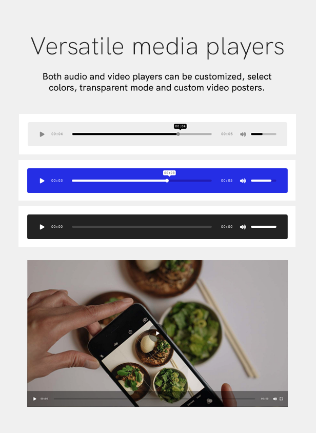 sales page 8 players 2 - Podcaster - Multimedia WordPress Theme
