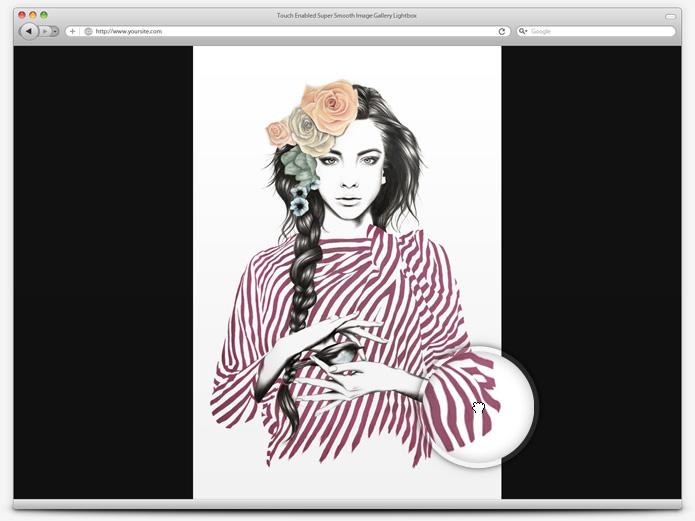 screenshot whitesmoke lightbox heat - Heat - Responsive Photography WordPress Theme
