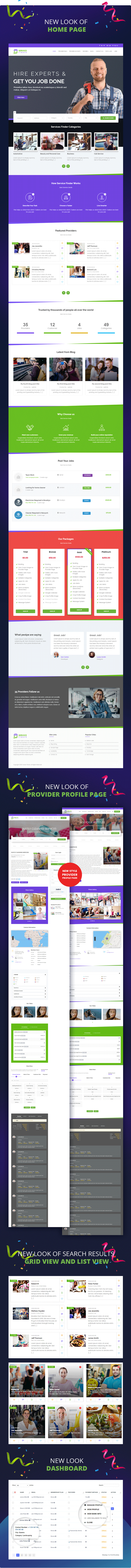 service finder preview 123 - Service Finder - Provider and Business Listing WordPress Theme