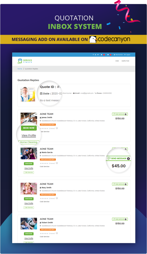 service finder preview 1288 - Service Finder - Provider and Business Listing WordPress Theme