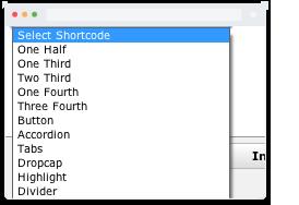 shortcodes - Heat - Responsive Photography WordPress Theme