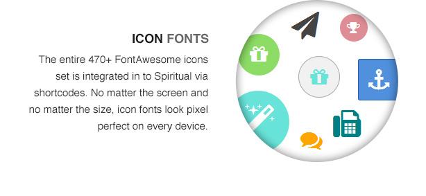 spiritual theme features10 - Spiritual - Church WordPress Theme (Responsive)