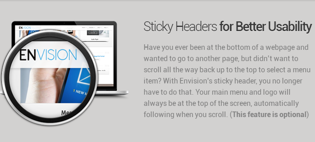 sticky headers - Envision - Responsive Retina Multi-Purpose Theme