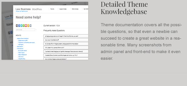 theme knowledgebase - LawBusiness - Attorney & Lawyer WordPress Theme