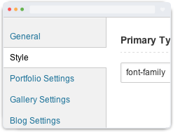theme options - Heat - Responsive Photography WordPress Theme